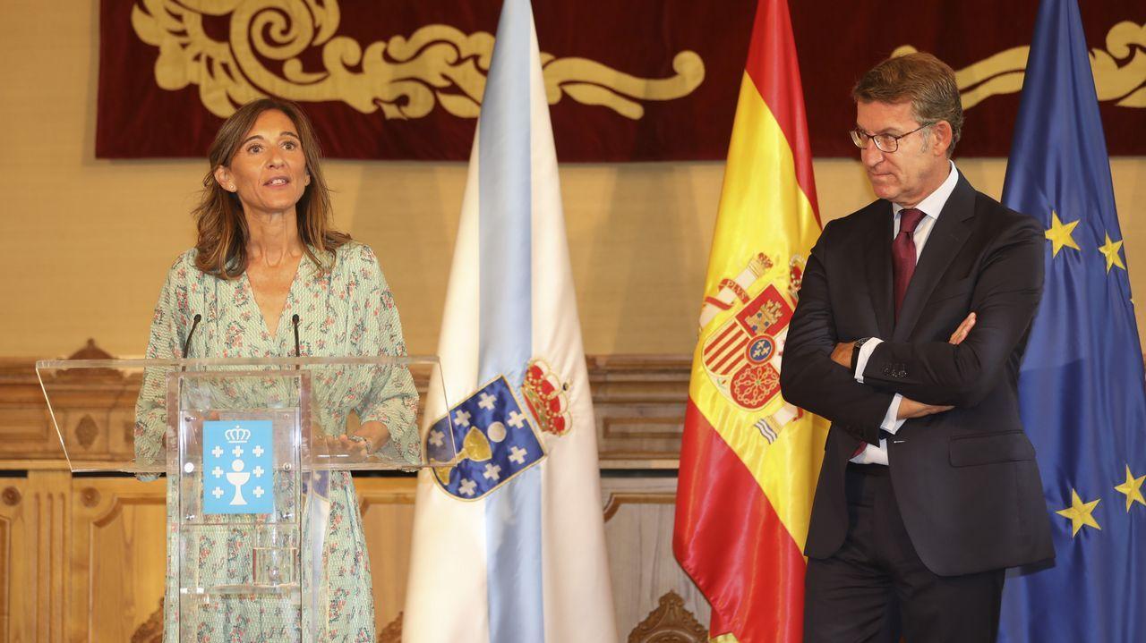 Toma de posesión de Carmen Pomar, nueva conselleira de Educación