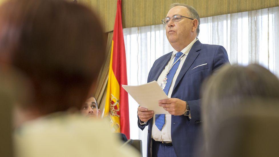 A Laracha. Alcalde, Jose Manuel Varela (PP)
