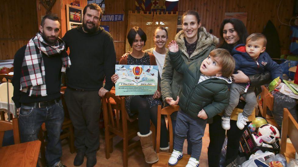 Carrera Pasos Solidarios del Colegio Galaxia en Ribeira