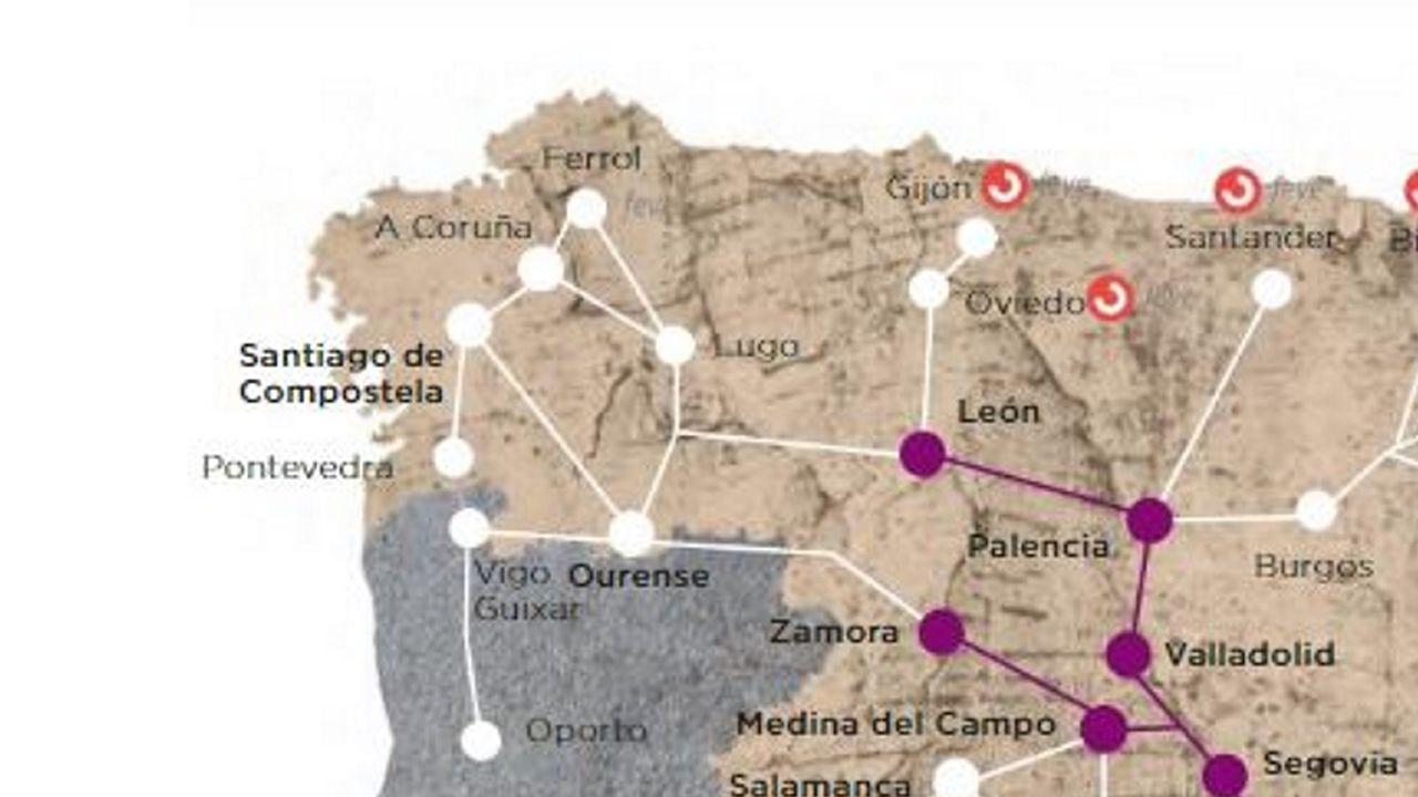 La A-6 en Lugo, llena de baches, grietas y socavones.Denuncian que maquinaria pesada destruyó el dolmén ubicado en el Monte da Cruz, situada en el Alto do Restelo, a 965 metros de altitud, junto a la carretera provincial LU-0708, casi en el límite entre los municipios de Baleira, Becerreá, A Fonsagrada y Navia de Suarna.