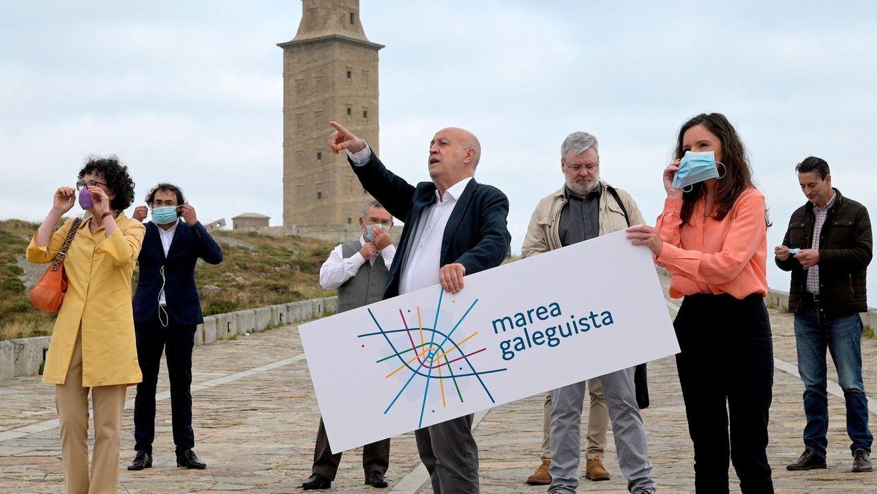 «Compostela, un ano de Voz», desde el miércoles en el paseo central de la Alameda.Pere Aragonès (ERC)