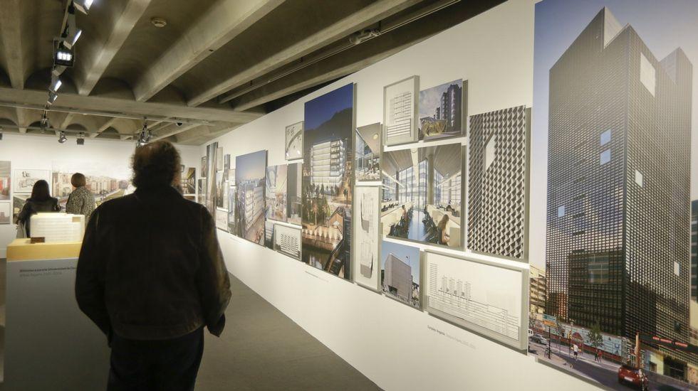 La plantilla afronta el futuro con «enorme preocupación».Exposición en la sede de A Coruña de la Fundación Barrié