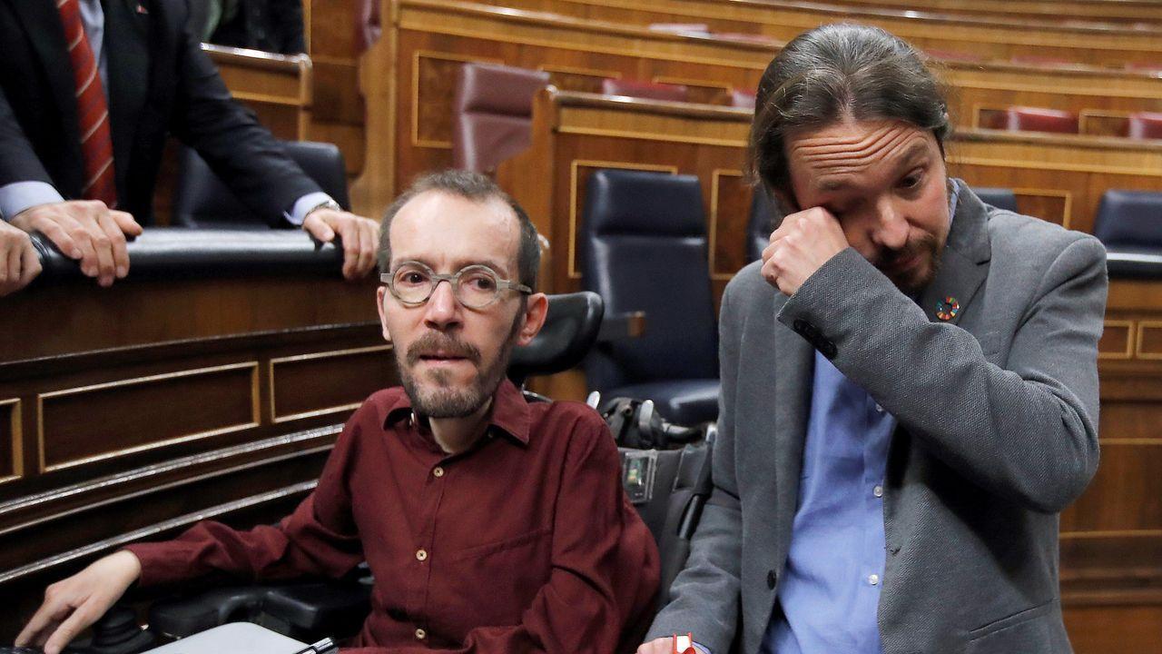 Pablo Iglesias no pudo contener las lágrimas tras el resultado de la votación
