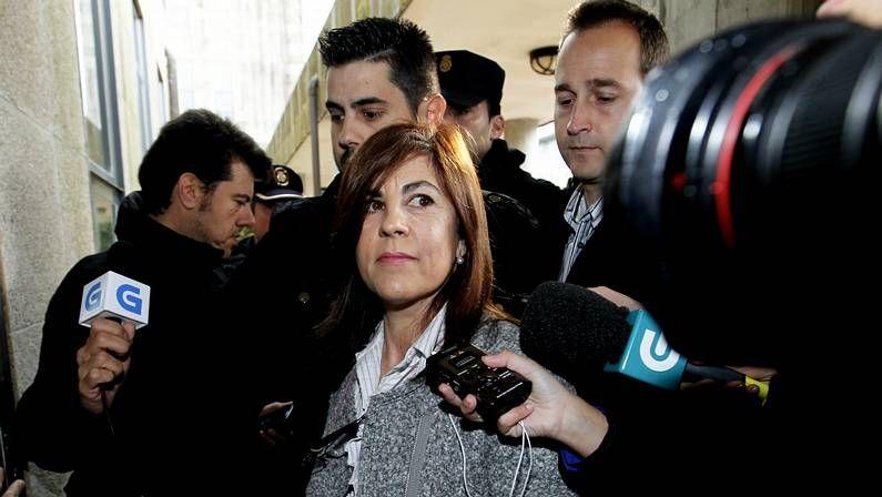 Polémica en el Marco con Caballero.Gloria Lago