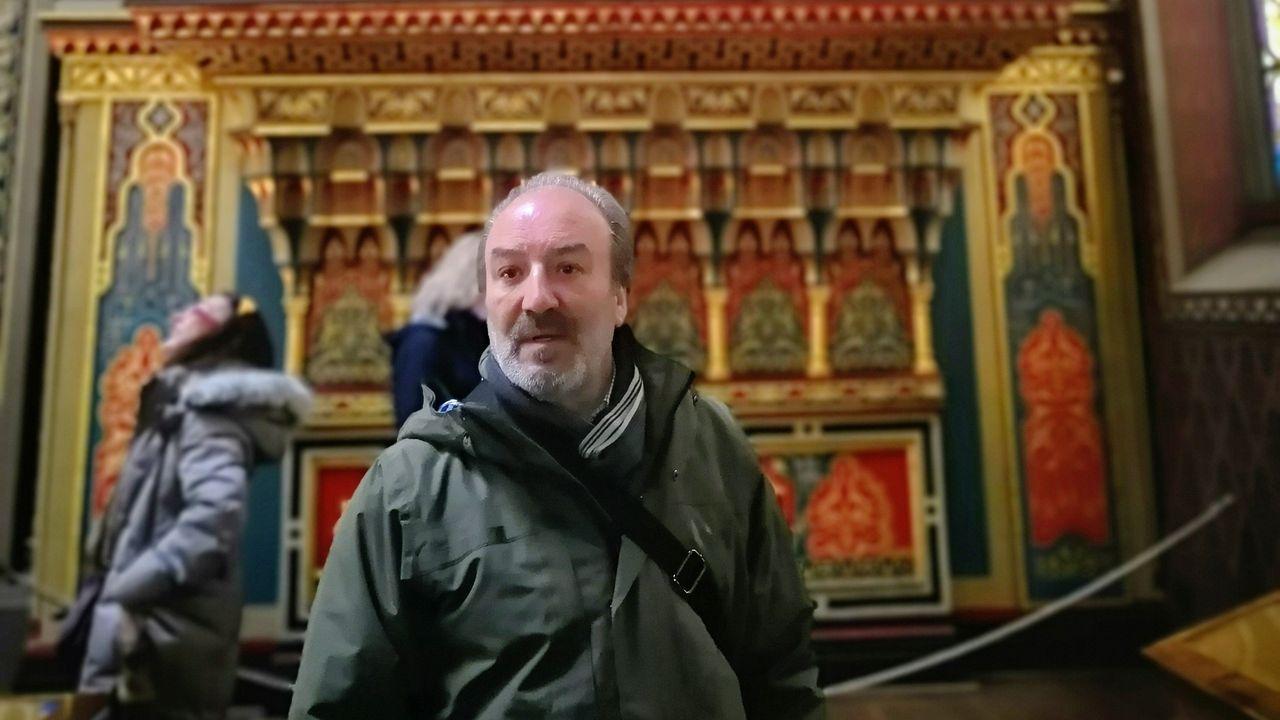García Mañá en Praga