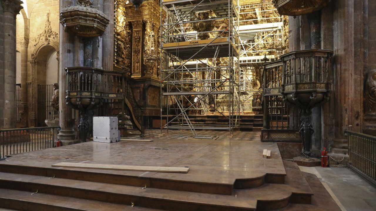 El inédito aspecto del interior de catedral
