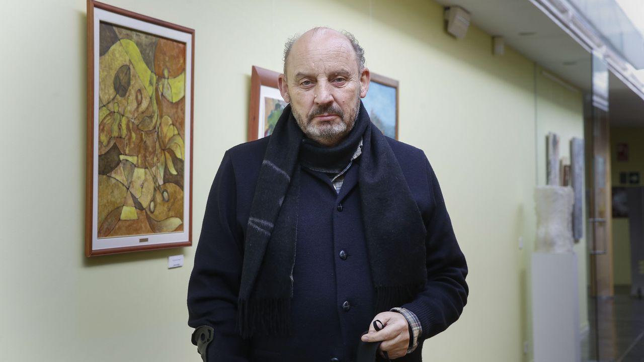 José Fernández Alborés, presidente de la Asociación Área Empresarial do Tambre