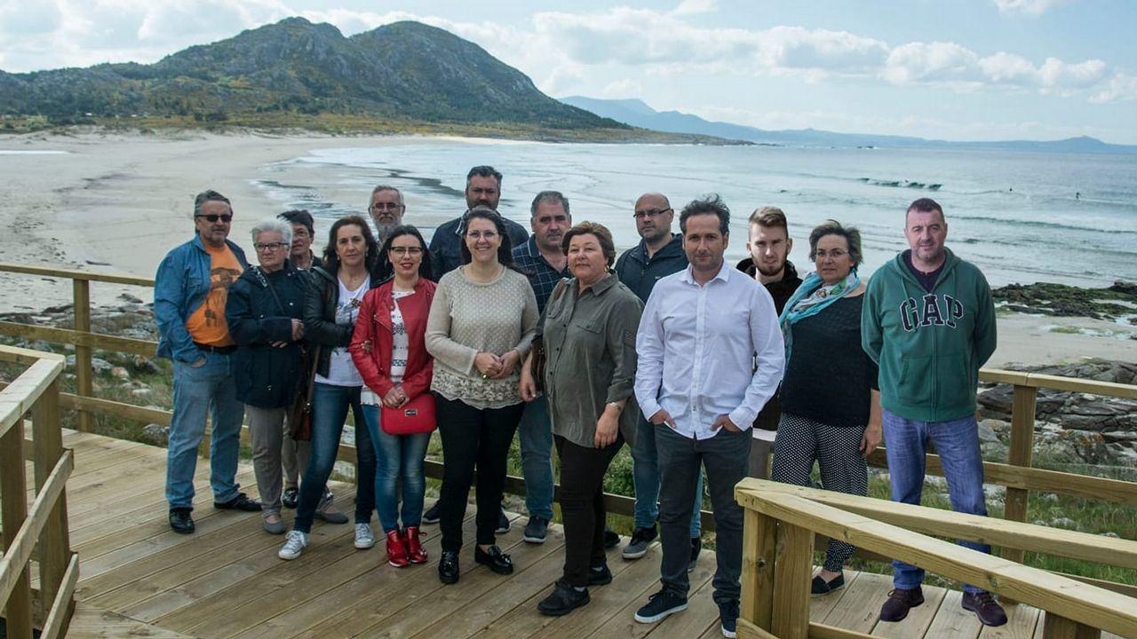Emotiva homenaxe a Ánxela Franco en Porto do Son