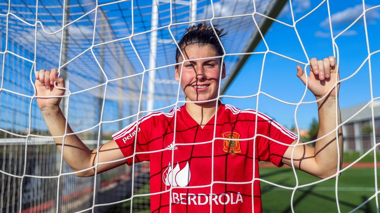 Lucía García, la estrella de Pola del Pino en la selección española