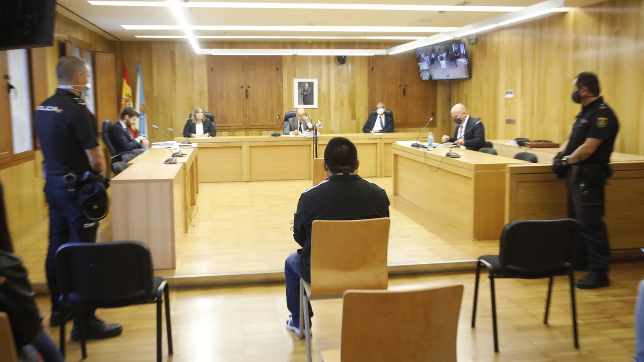 El acusado fue detenido el 28 de agosto del año 2018 en un piso de Monforte