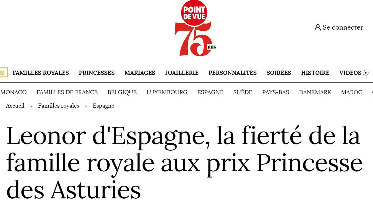Leonor de España, orgullo de la familia real en los premios Princesa de Asturias