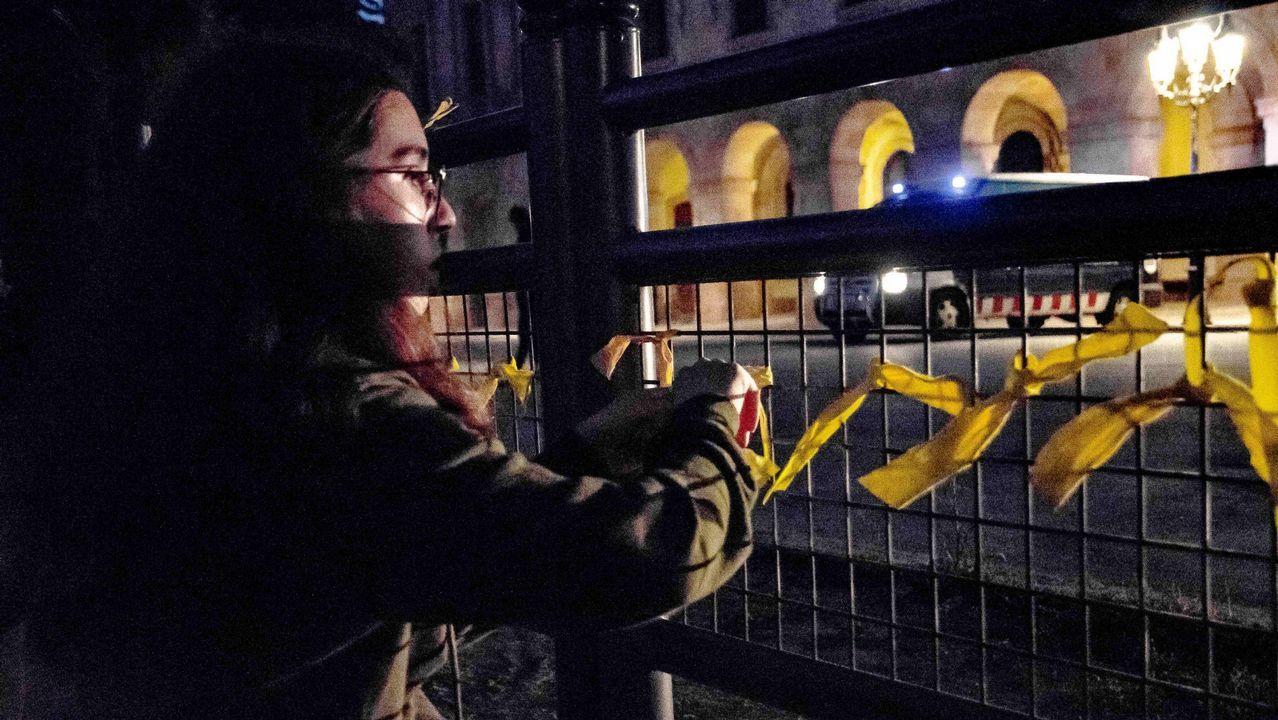 Así son las «habitaciones» de los agentes desplazados a Cataluña