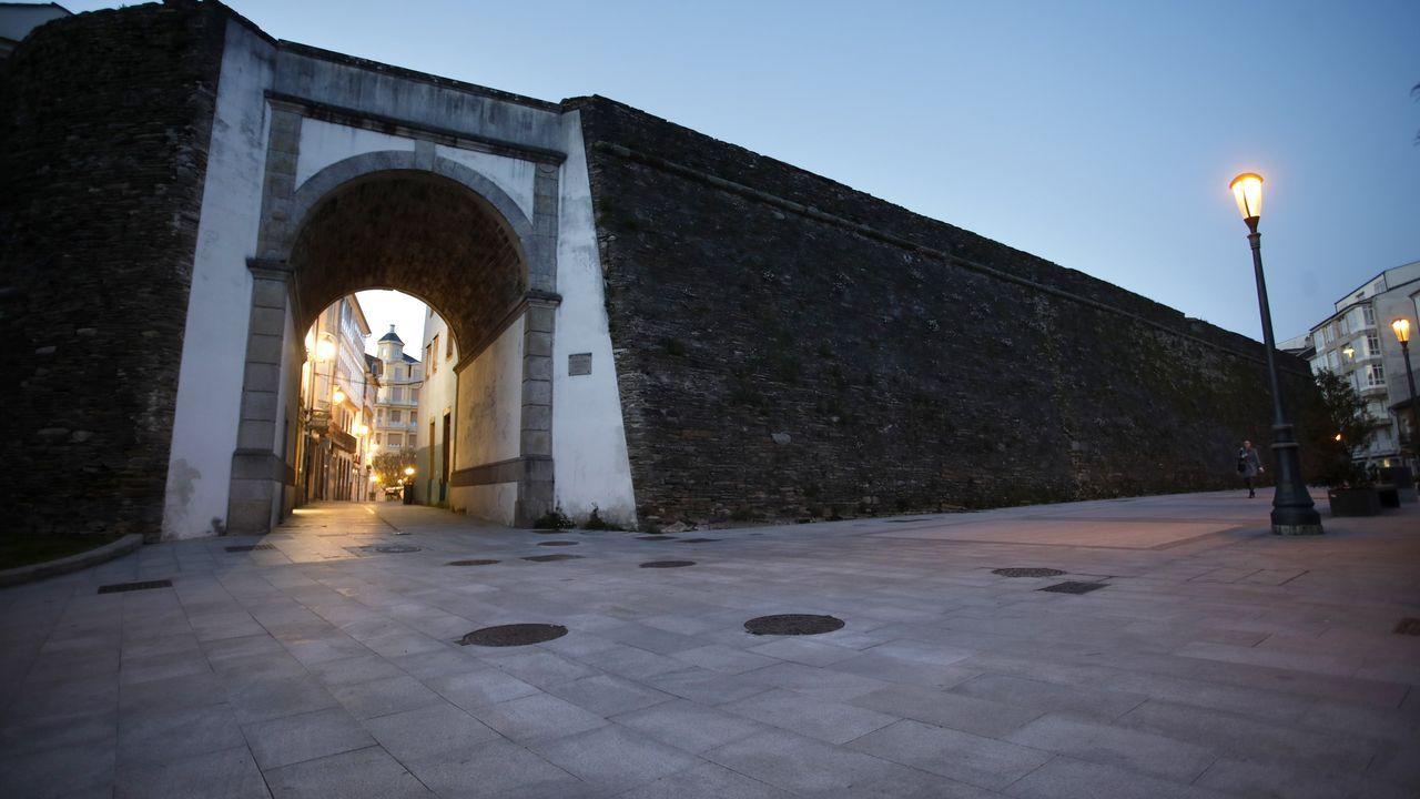 La Ronda de la Muralla (Lugo).