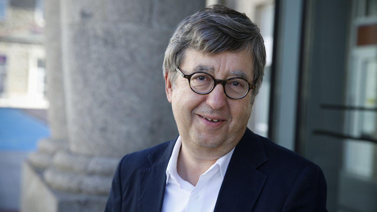 José Luis Jiménez, presidente del Colexio Oficial de Médicos de Ourense