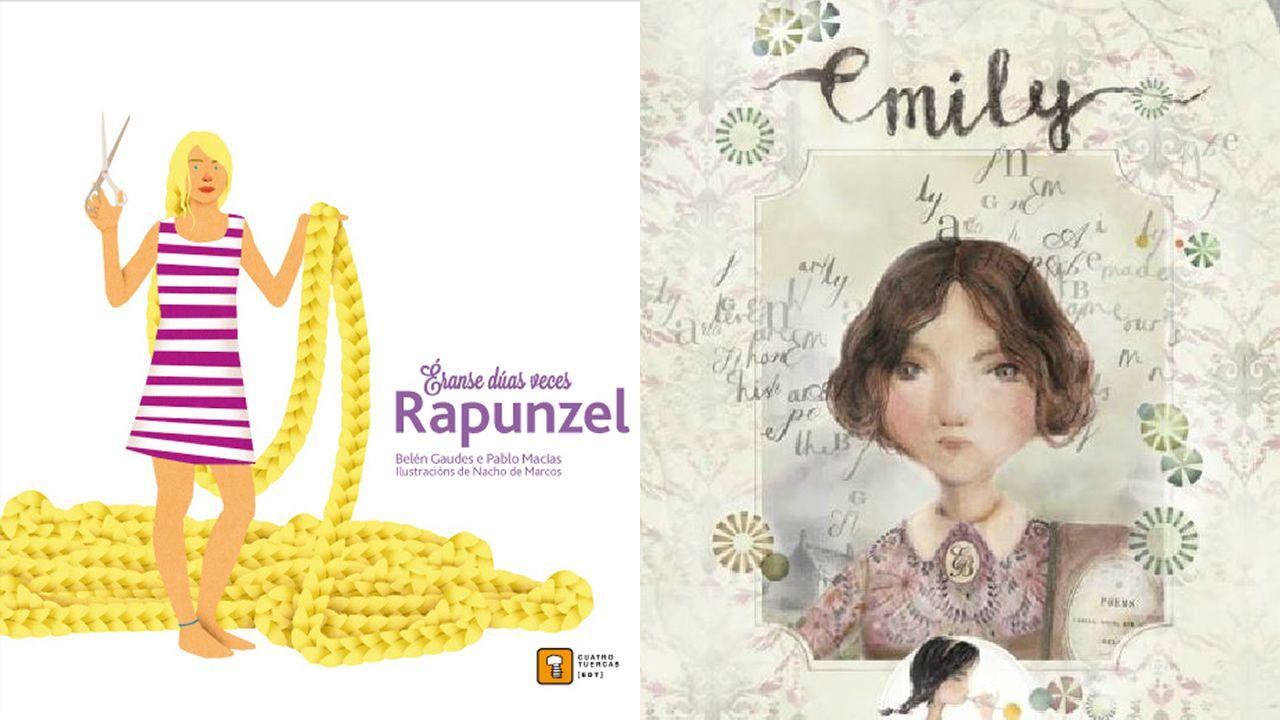 «Éranse dúas veces... Rapunzel» y «Emily», de Itziar Miranda