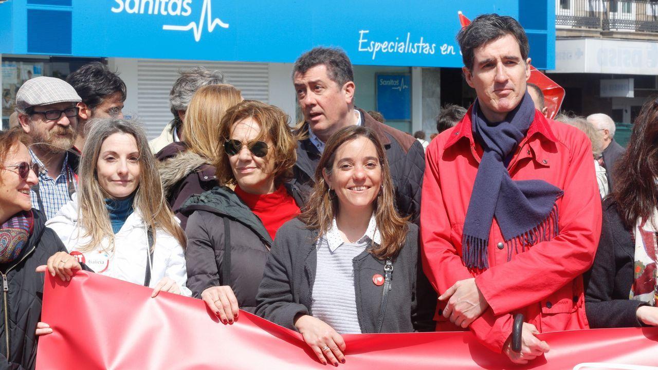 La manifestación de A Coruña