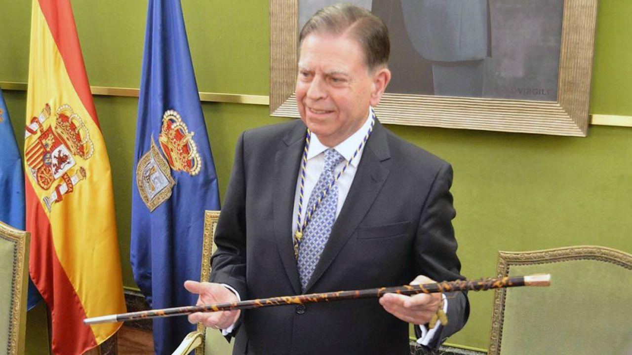 Asturias también estuvo en la movilización por el clima en Madrid.Alfredo Canteli, alcalde de Oviedo