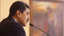Nicolás Maduro, en una comparecencia en el palacio de Miraflores