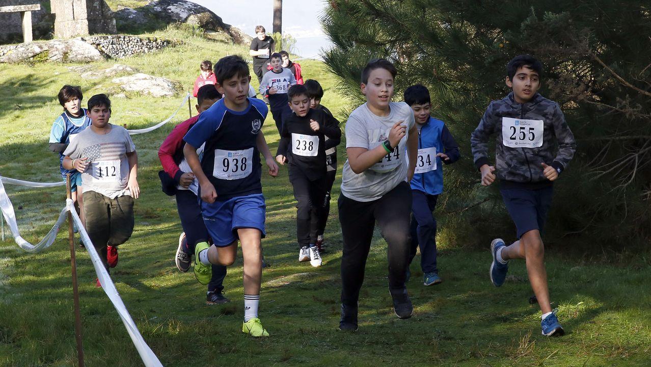 Proba de campo a través de deporte escolar,  Campamento xuvenil Virxe do Loreto - Porto do Son