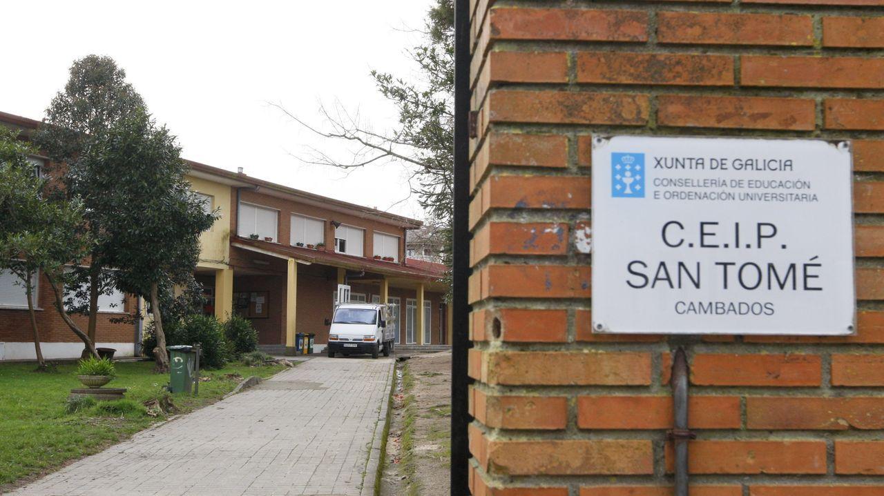 La agresión tuvo lugar en el gimnasio del colegio de San Tomé