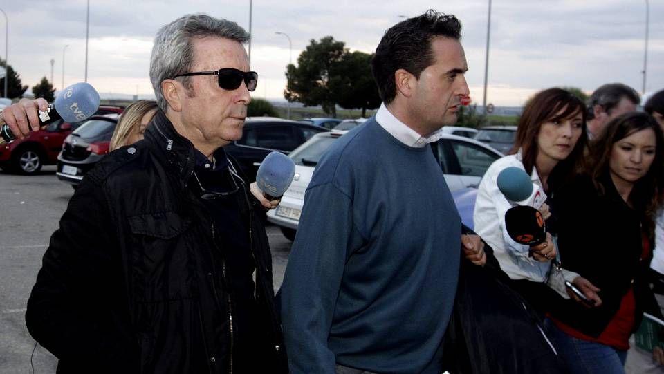 José Ortega Cano ingresó ayer en la cárcel de Zuera, en Zaragoza.