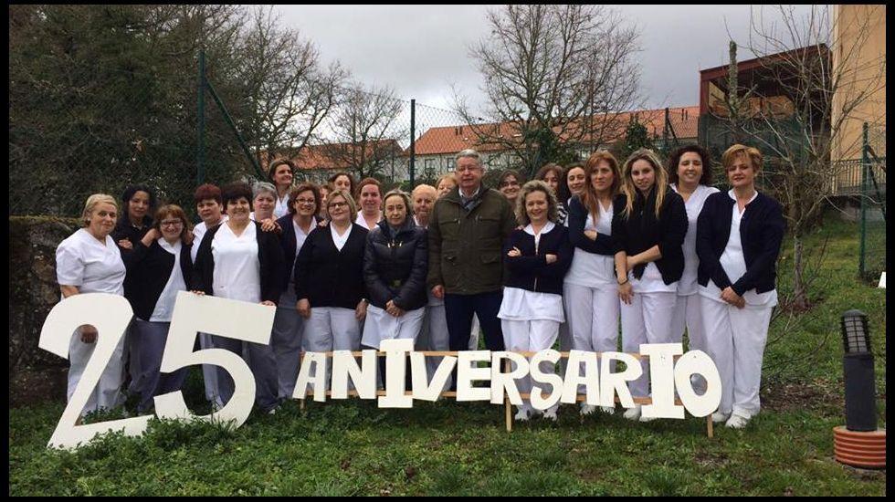25 años de la Fundación San Rosendo.Celebración en la residencia de A Saleta