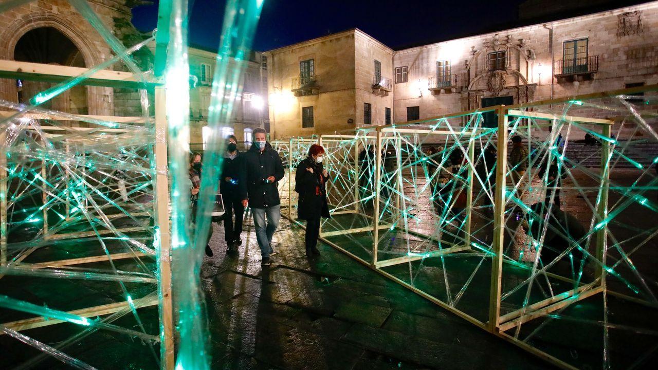 La exposición temporal en Santa María