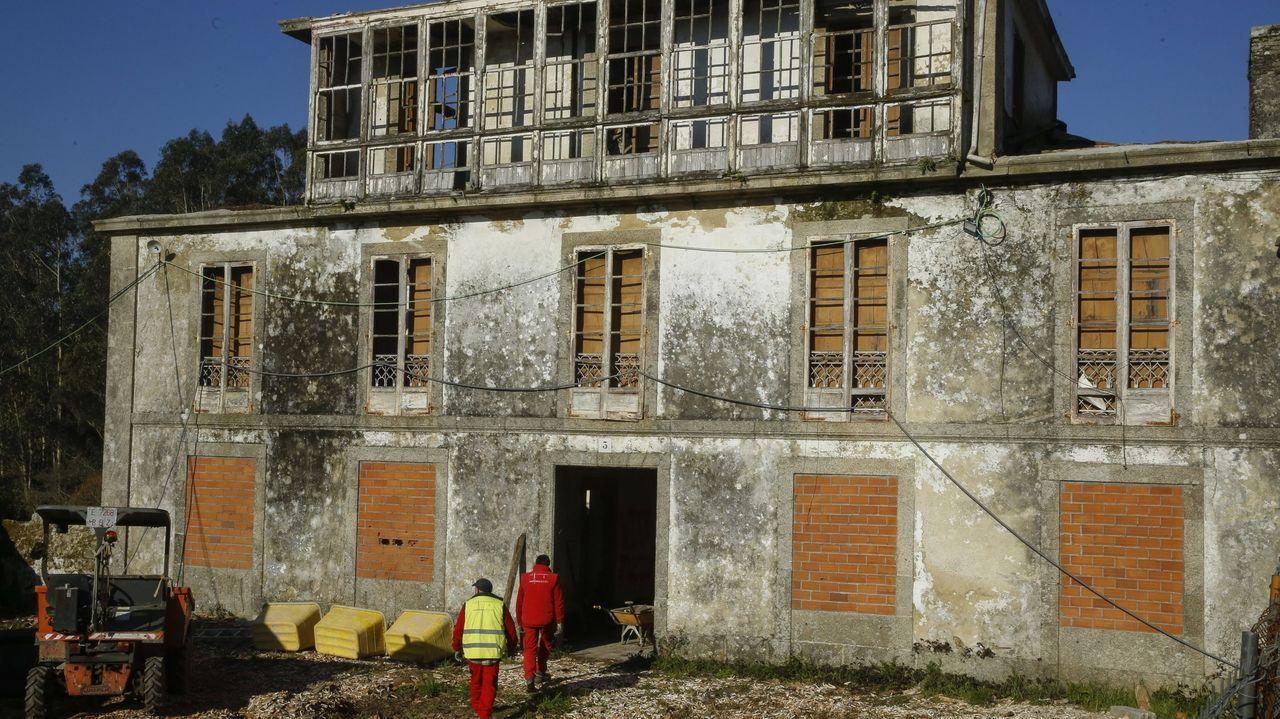 Edificio del Concello de Bóveda
