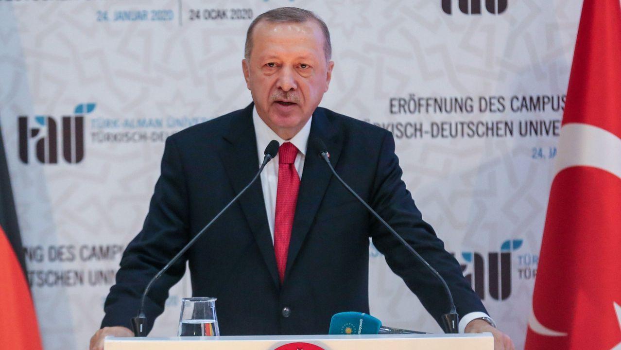 El presidente turco, Tayyip Erdogan