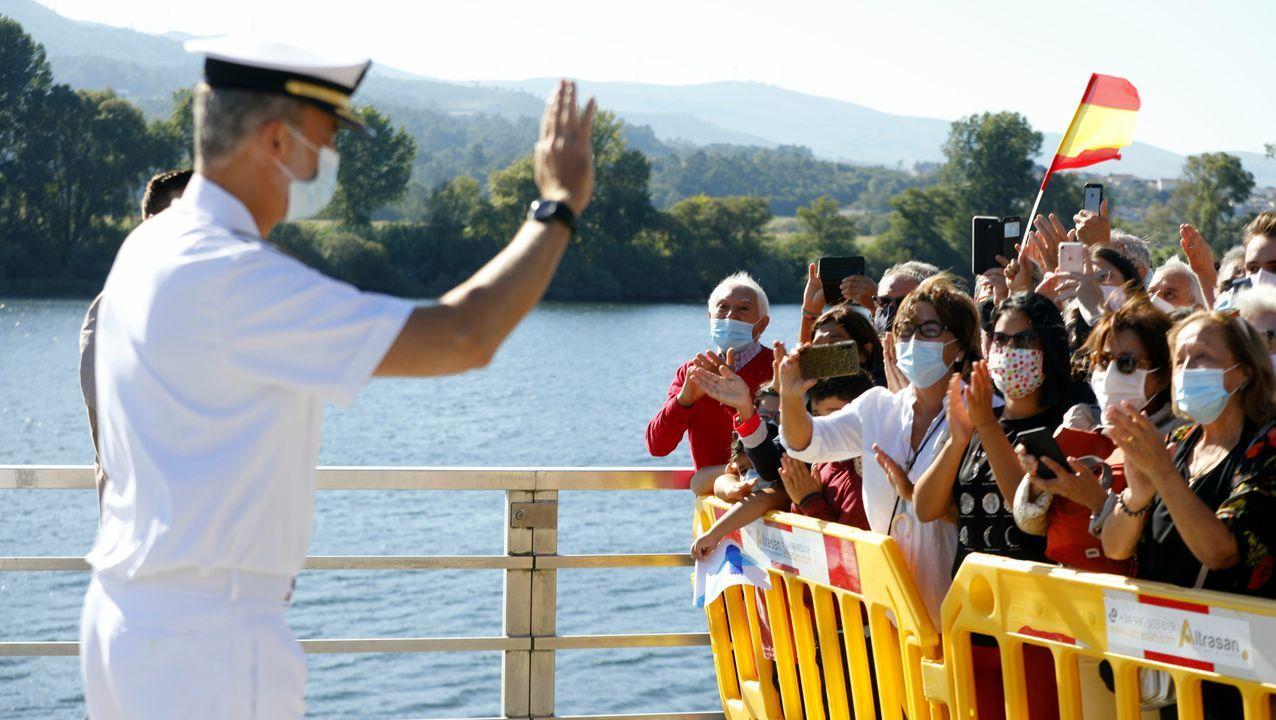 El Rey, de visita en Tui.Juan Carlos de Borbón, en una imagen de archivo