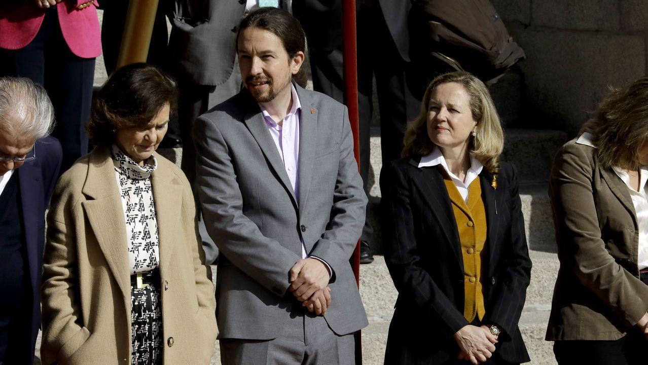 El informe de la Guardia Civil considera que no se debió celebrar ningún acto multitudinario desde el 5 de marzo.María Luisa Carcedo, a su llegada el Congreso