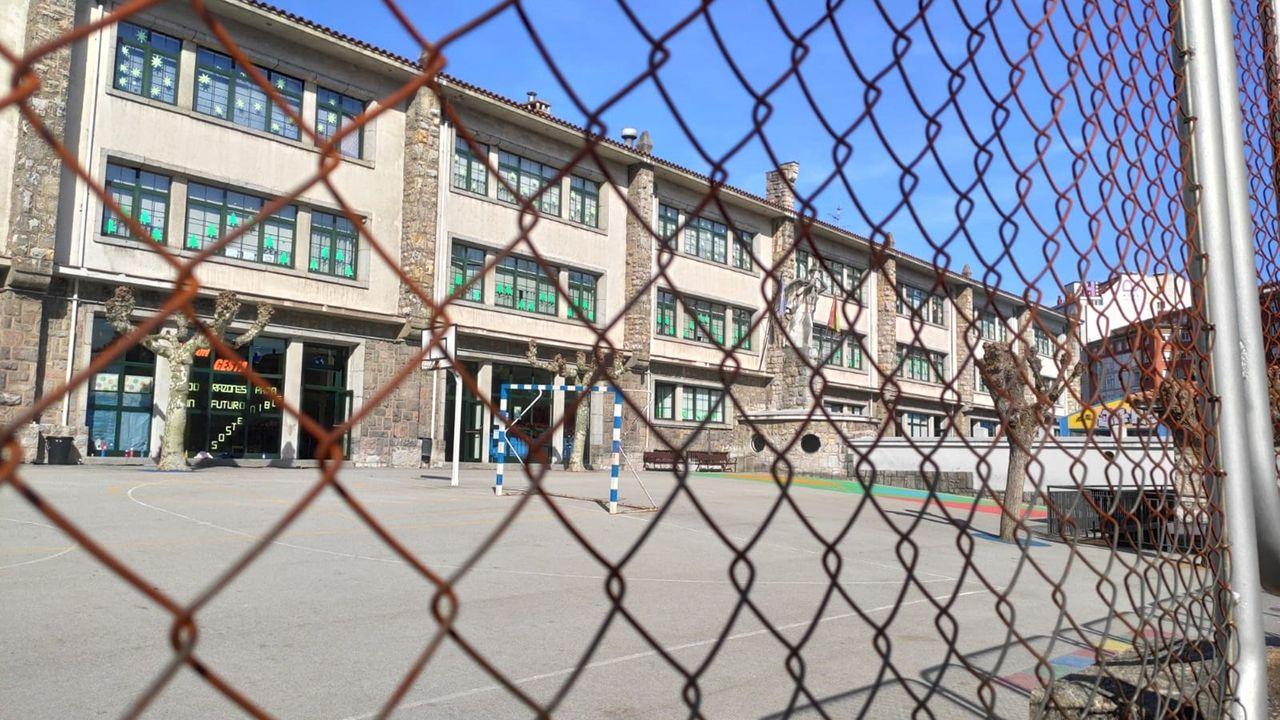 Colegio La Gesta, cerrado