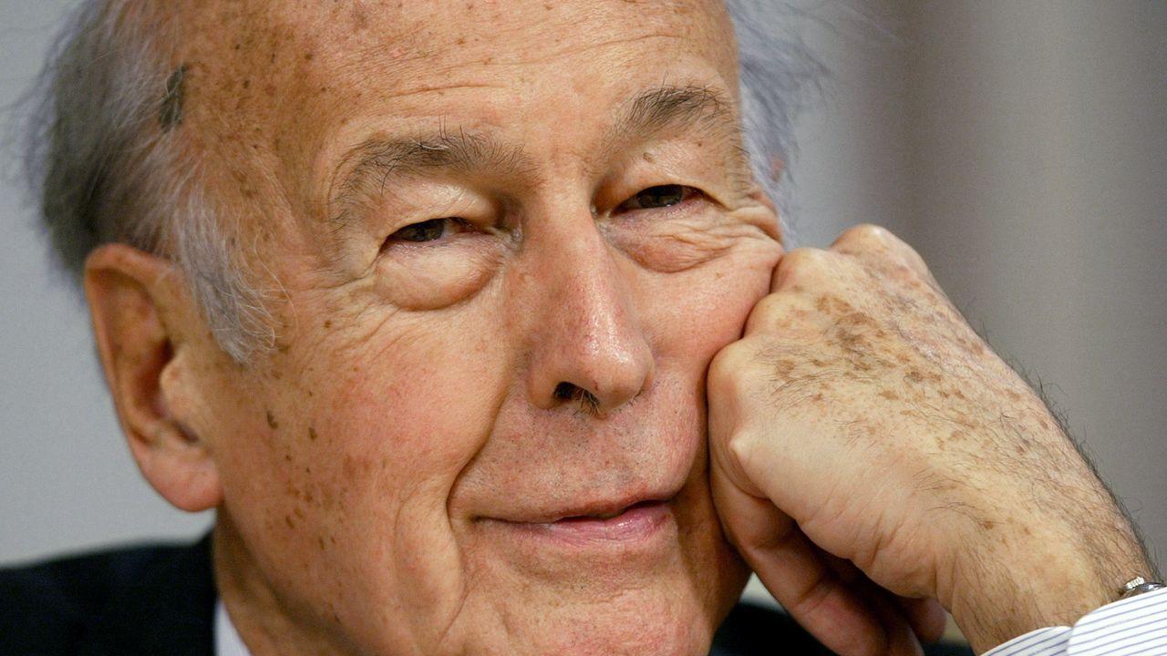 Valery Giscard d'Estaing en una foto del 2003