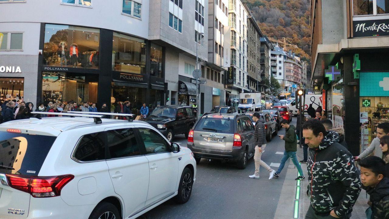 Imagen de una calle de Andorra, antes del confinamiento