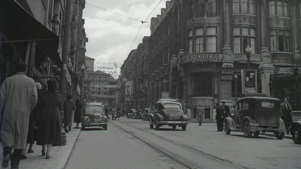 La calle Fruela en los años 50