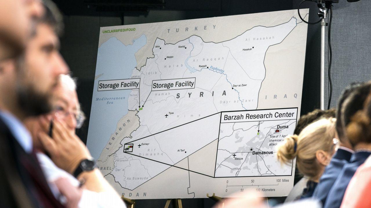 El Pentágono confirma que el ataque a Siria era de una sola noche.Los habitantes de Duma intentan sobrevivir en medio de las ruinas en que ha quedado la ciudad tras años de asedio
