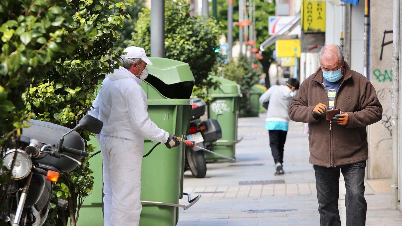 En la planta de Serra do Barbanza se constata un incremento de desechos impropios, voluminosos y enseres sobre todo, en los contenedores destinados a la recogida de residuos sólidos urbanos