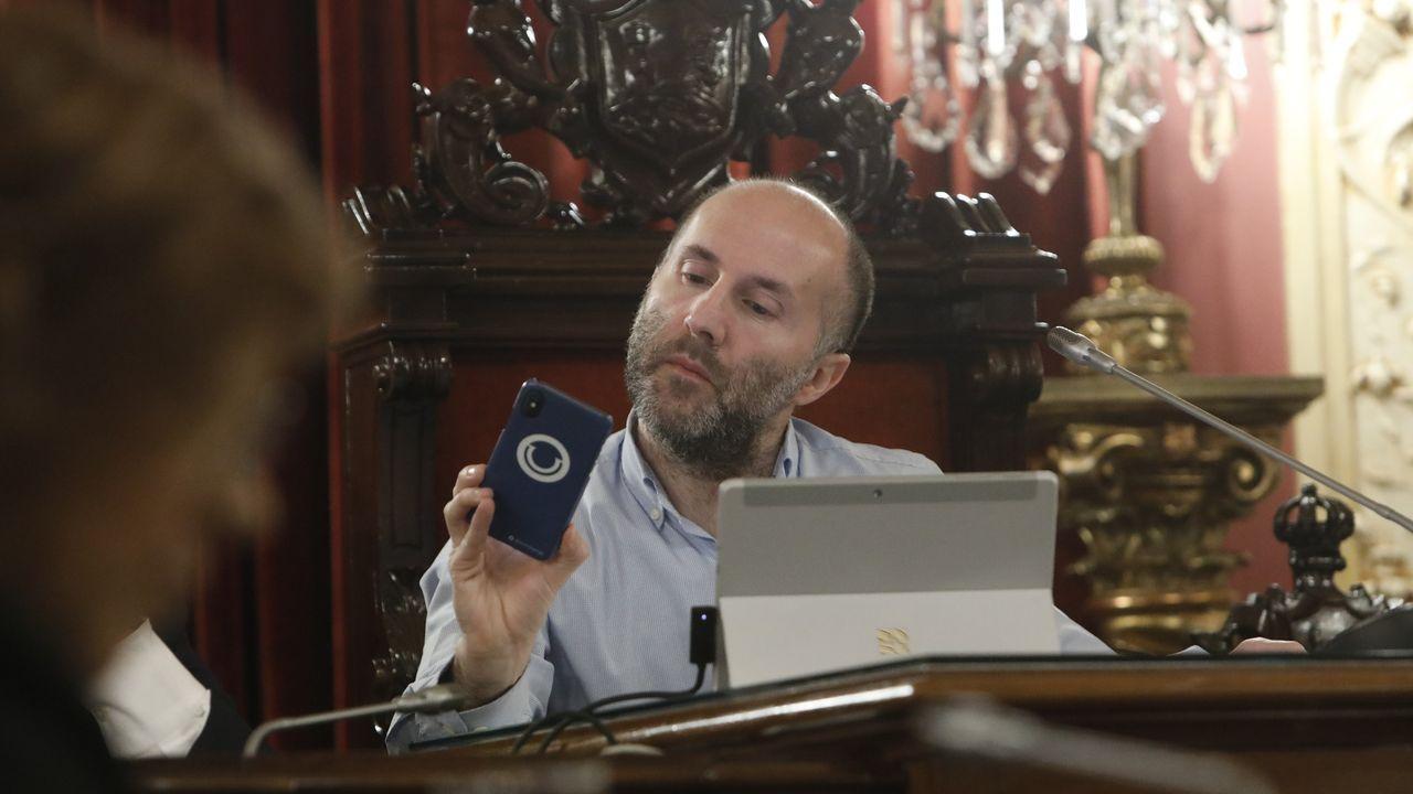 El estado de La Pajarera, en imágenes.Gonzalo Pérez Jácome, alcalde de Ourense