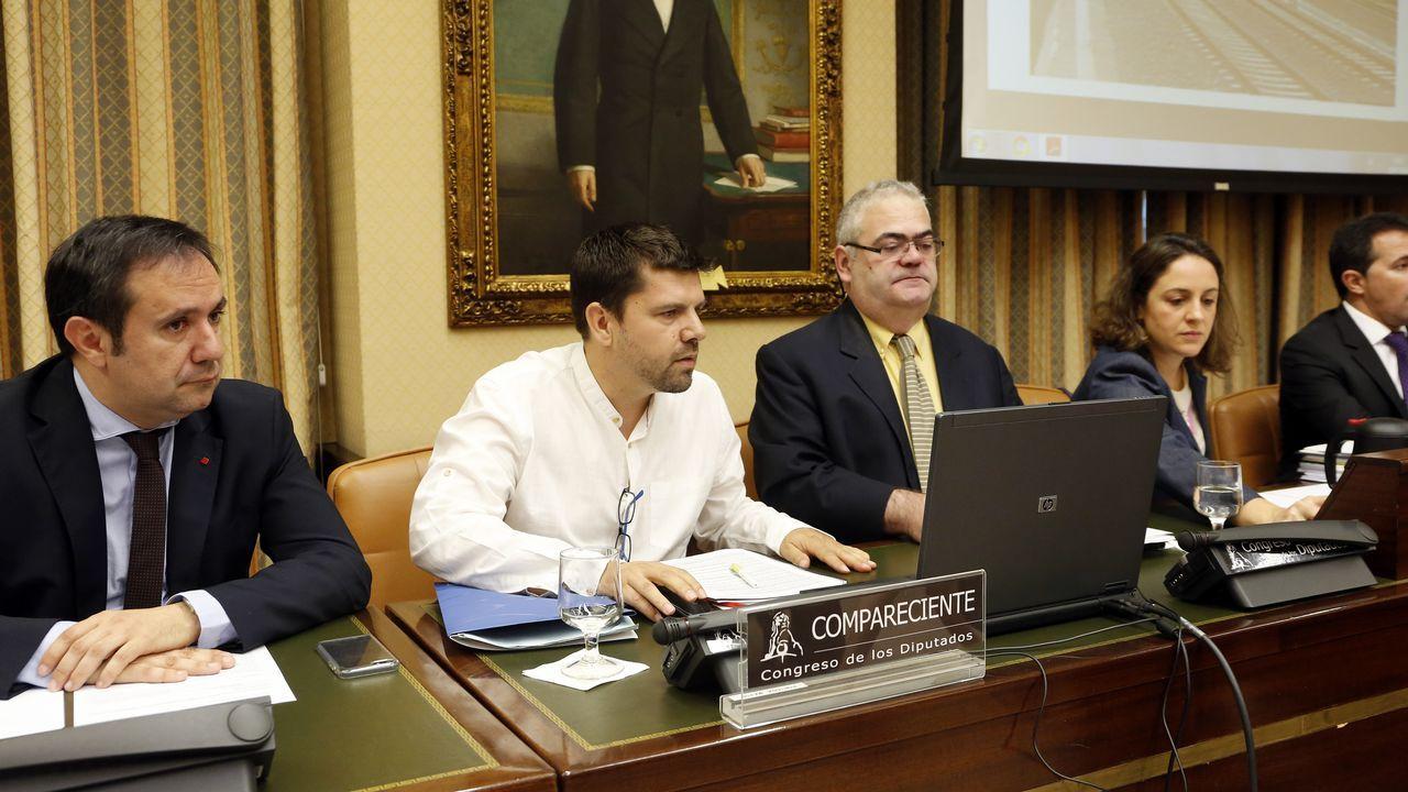 Jesús Domínguez, portavoz de la plataforma de víctimas, hubiese querido que los responsables políticos pidiesen perdón y dimitiesen
