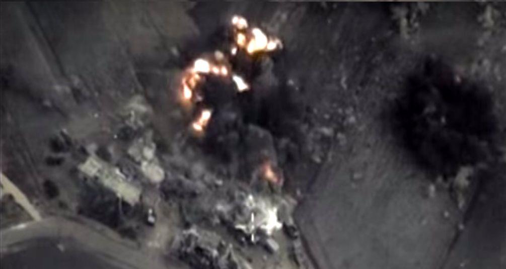 Ataque ruso sobre la provincia siria de Homs