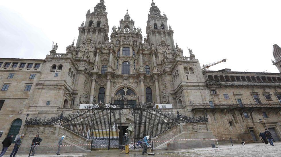 Roi Casal pon a banda sonora a Mar de Santiago en Fitur.La presentación del proyecto en Pontevedra tuvo lugar ayer en la Casa das Campás