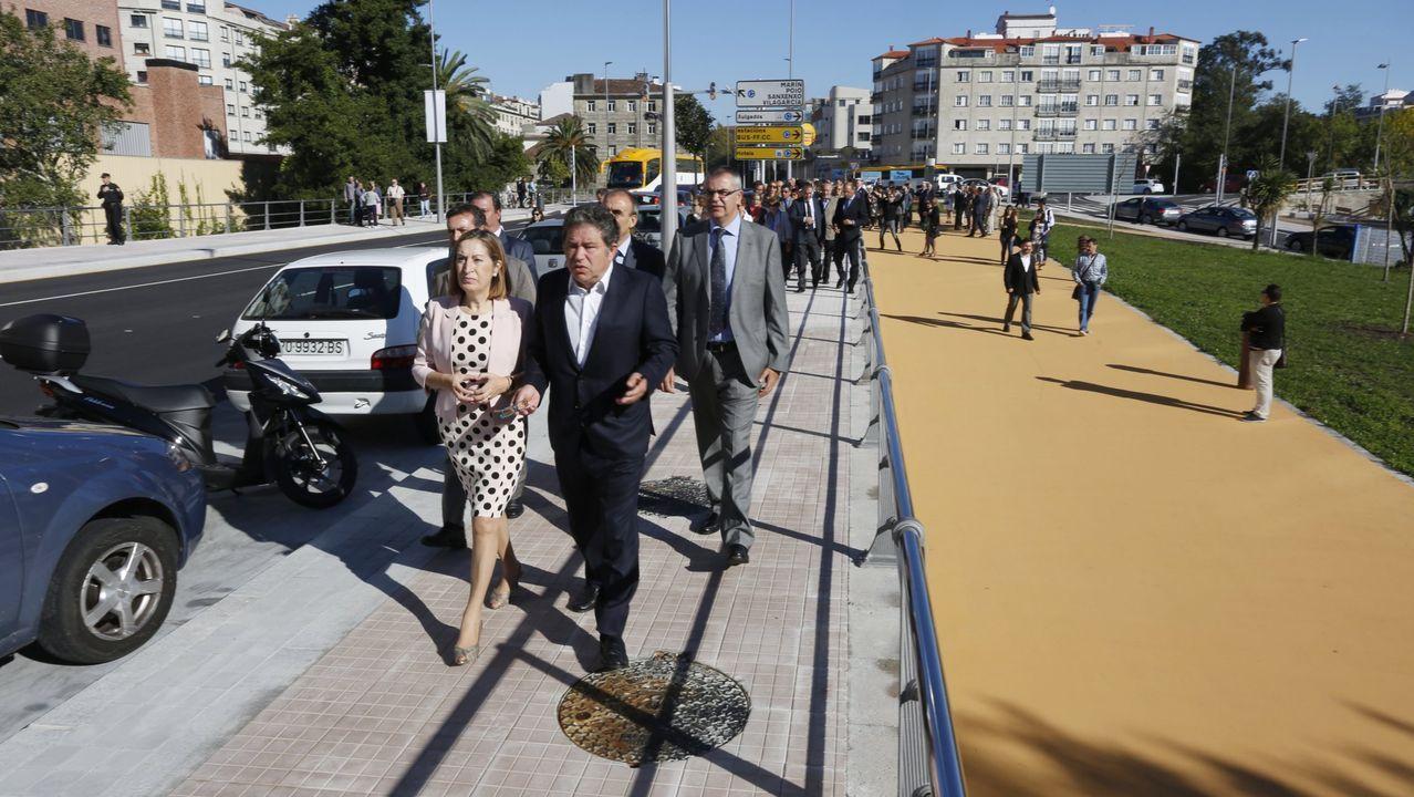 José Luis Ábalos reconoció ayer en Andalucía que las tarifas de la AP-9 son muy altas