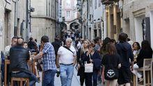 La Rúanova, calle por excelencia de los vinos en Lugo, antes del estado de alarma