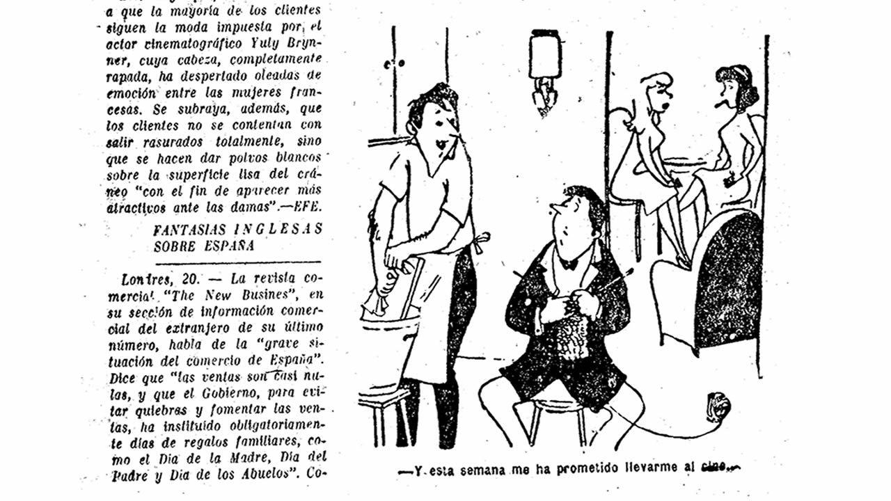 Crónica publicada el La Voz el 21 de febrero de 1957