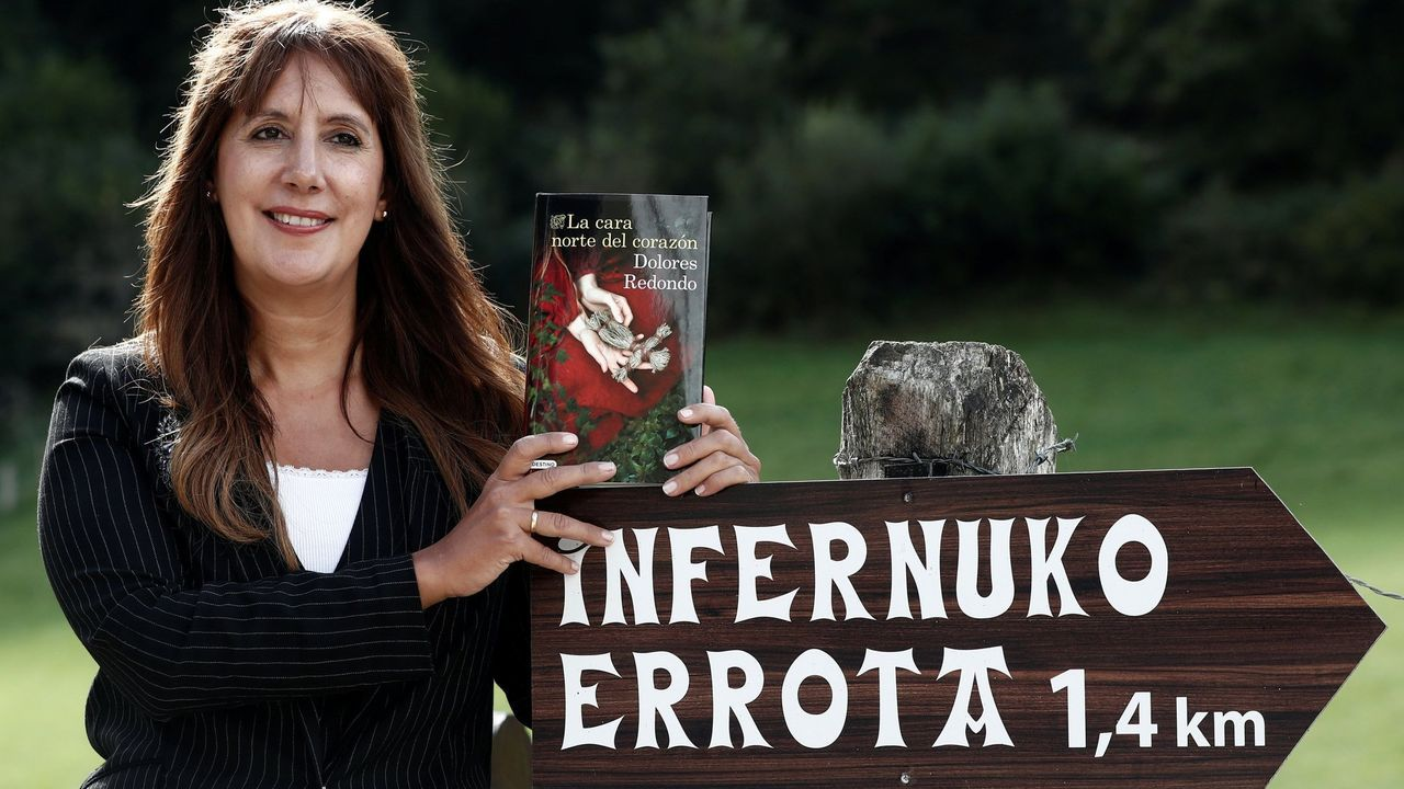 dolores.La última novela de Dolores Redondo, «La cara norte del corazón», es una precuela de su «Trilogía del Baztán»