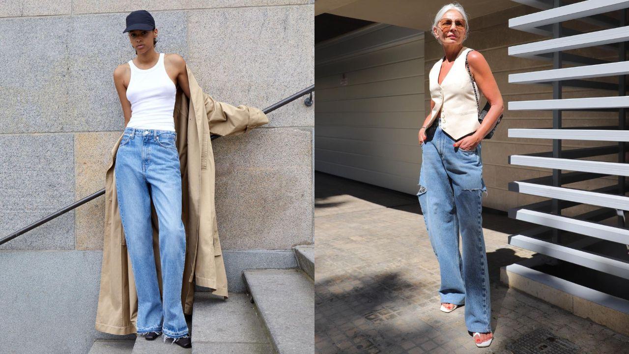 Iris Apfel, icono de moda a los 100.Los vaqueros anchos de Weekday y la instagramer Grace Ghanem