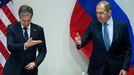 Primera reunión de los ministros de Exteriores estadounidense y ruso, Antony Blinken y Serguéi Lavrov