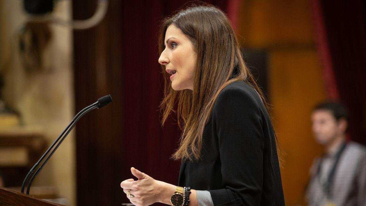 Lorena Roldán, exportavoz de Ciudadanos en el Parlamento de Cataluña