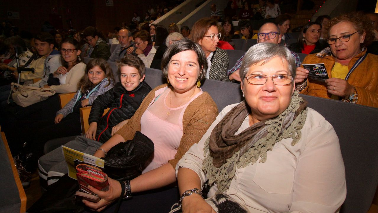 Así fue el estreno de la nueva obra de Airiños.Nueva sede de la Audiencia Provincial de A Coruña