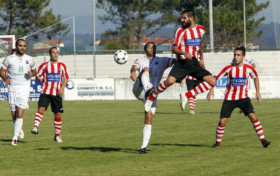 El Estradense ya se estrenó como visitante en la primera jornada de liga ante el Céltiga (1-2).